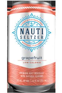 Nauti - Grapefruit Hard Seltzer 12oz Can Case