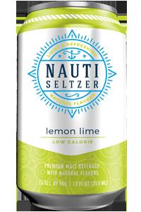 Nauti - Lemon Lime Hard Seltzer 12oz Can Case