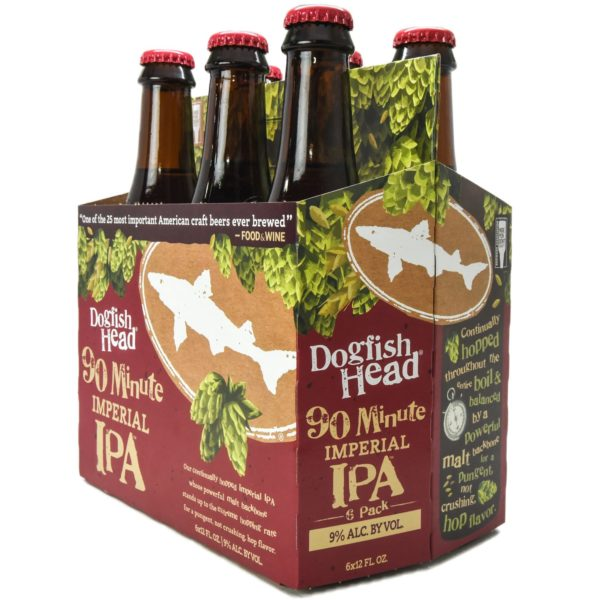 Dogfish - 90min Imperial IPA 12oz Bottle 24pk Case