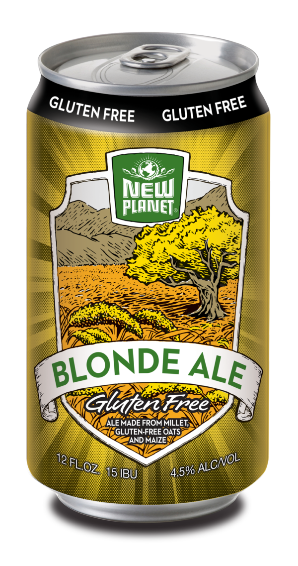 New Planet - Blonde Ale 12oz Can 24pk Case