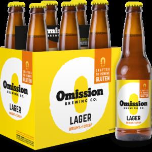 Omission - Lager 12oz Bottle 24pk Case