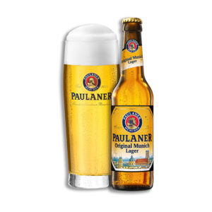 Paulaner - Original Munich Premium Lager 330ml (11.2oz) Bottle 24pk Case