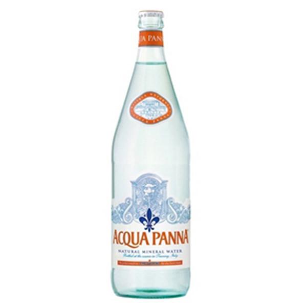 Acqua Panna - 1 Liter (33.8oz) Glass Bottle Case