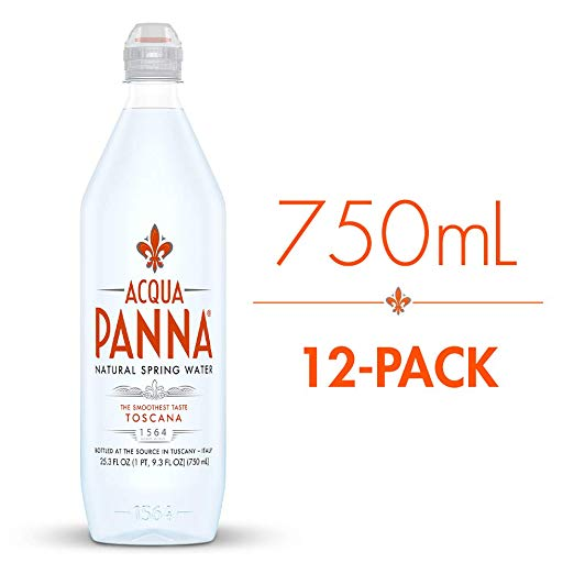 Acqua Panna - Sport Cap 750ml (25.3oz) Plastic Bottle Case