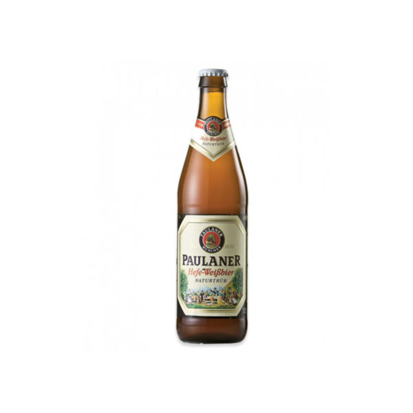 Paulaner - Hefe-Weizen 500ml (16.9oz) Bottle 24pk Case