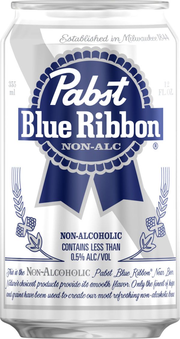 Pabst - Blue Ribbon Non-Alcoholic 12oz Can 24pk Case