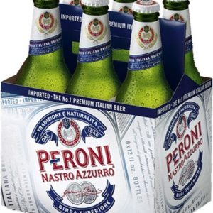 Peroni - Lager 330ml (11.2oz) Bottle 24pk Case