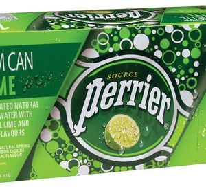 Perrier - Plain 250ml (8.45oz) Slim Can Case - 10 Pack