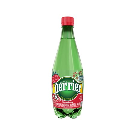 Perrier - Flavored 500ml (16.9oz) Plastic Bottle Case - 24 Pack