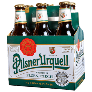 Pilsner Urquell - Original Pilsner 330ml (11.2oz) Bottle 24pk Case