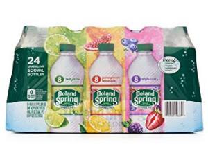 Poland Spring - Sparkling 16.9oz Variety Case - 24 Pack
