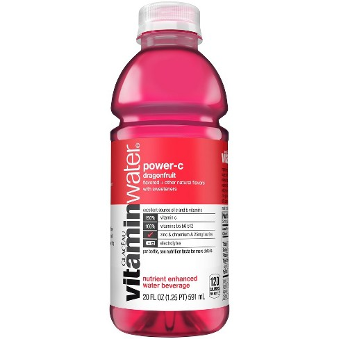 "Glaceau - Vitamin Water ""C"" (Dragonfruit) 20oz Bottle Case - 12 Pack"