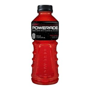 Powerade -Fruit Punch 20oz Bottle Case