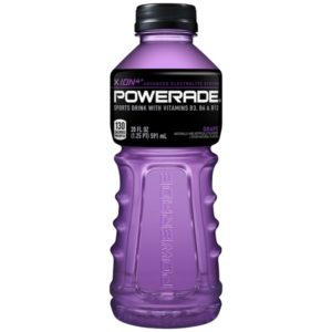 Powerade - Grape 20oz Bottle Case