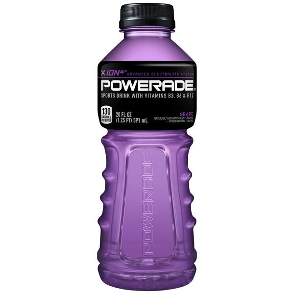 Powerade - Grape 20oz Bottle Case