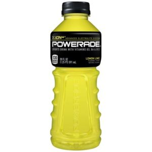 Powerade - Lemon Lime 20oz Bottle Case