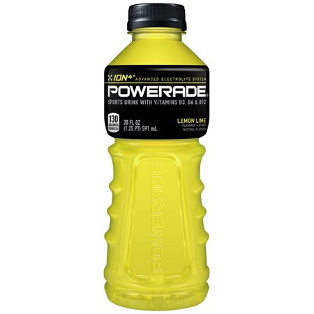 Powerade - Lemon Lime 20oz Bottle Case