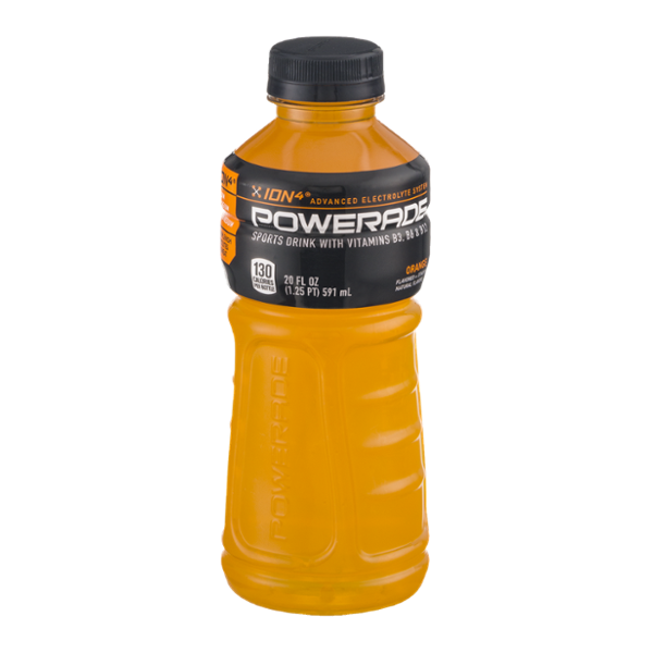 Powerade - Orange 20oz Bottle Case
