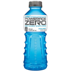 Powerade - Zero Mixed Berry 20oz Bottle Case