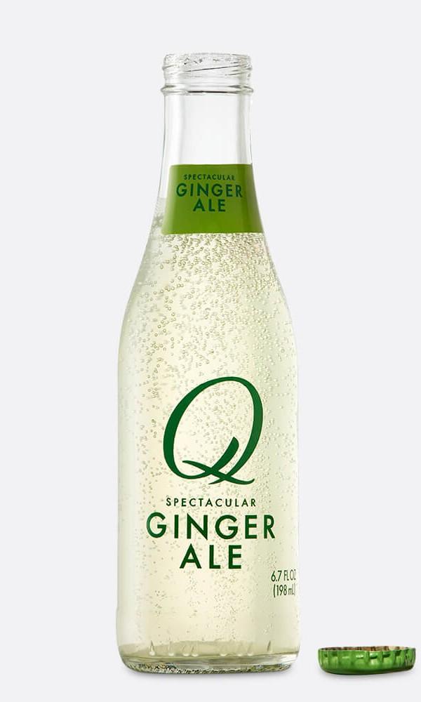 Q Drinks - Q Ginger Ale 6.7oz Bottle Case