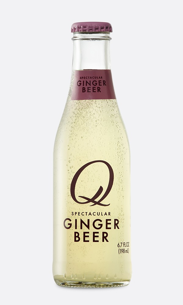 Q Drinks - Q Ginger Beer 6.7oz Bottle Case