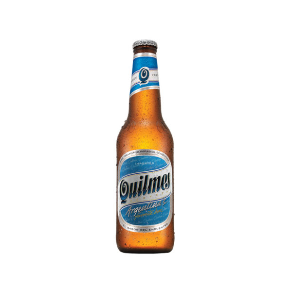 Quilmes - Lager 340ml (11.5oz) Bottle 24pk Case