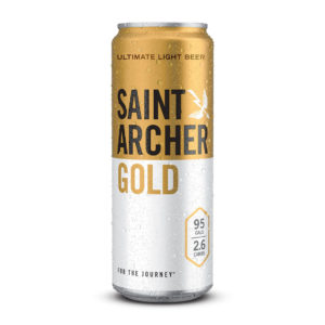 Saint Archer - Gold light Lager 12oz Can 24pk Case