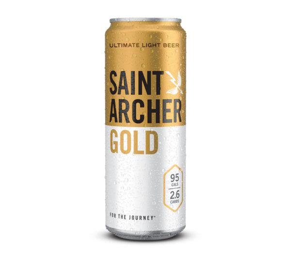 Saint Archer - Gold light Lager 12oz Can 24pk Case