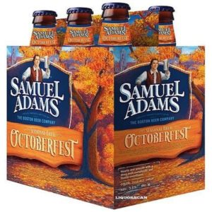 Sam Adams - Octoberfest 12oz Bottle 24pk Case