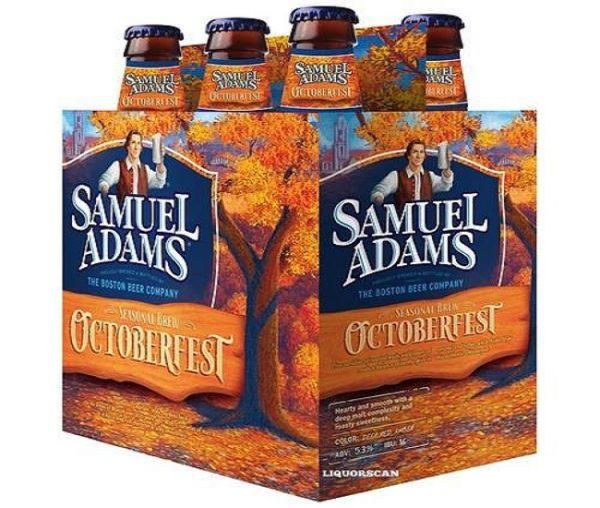 Sam Adams - Octoberfest 12oz Bottle 24pk Case