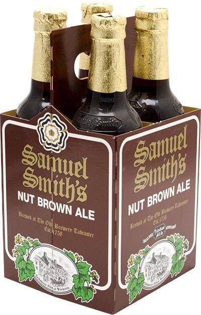 Samuel Smith - Nut Brown Ale 12oz Bottle 24pk Case