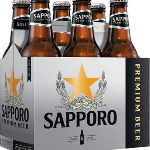 Sapporo - Lager 12oz Bottle 24pk Case