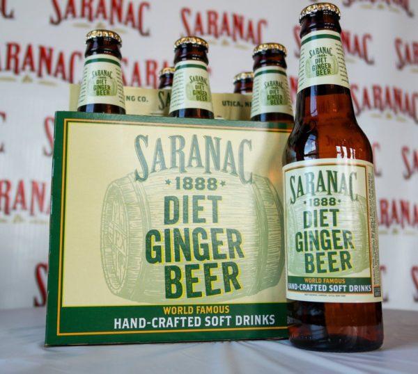 Saranac - Diet Ginger Beer 12oz Bottle Case