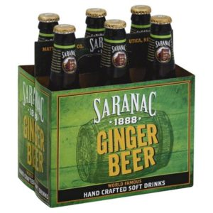 Saranac - Ginger Beer 12oz Bottle Case