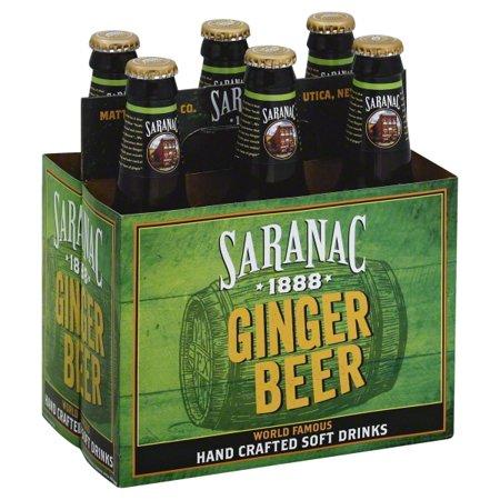 Saranac - Ginger Beer 12oz Bottle Case