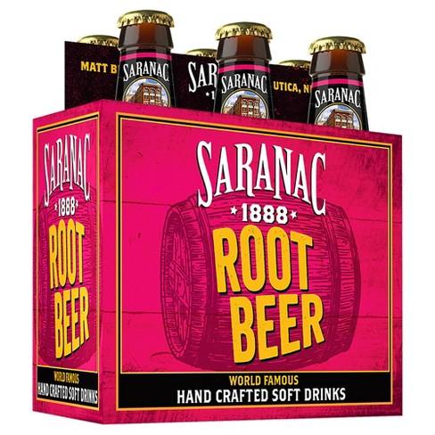 Saranac - Root Beer 12oz Bottle Case