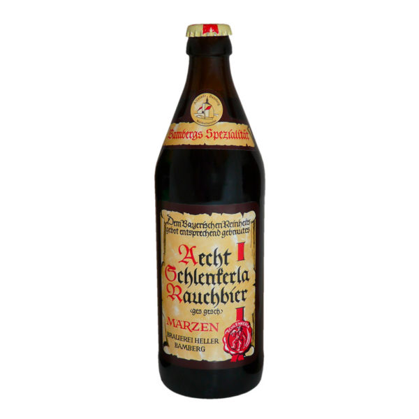 Aecht Schlenkerla Rauchbier - Smoked Maerzen 500ml (16.9oz) Bottle 24pk Case