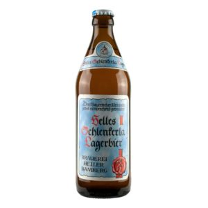 Aecht Schlenkerla Rauchbeir - Helles Lager 500ml (16.9oz) Bottle 24pk Case