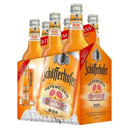 Schofferhofer - Grapefruit Hefeweizen 330ml (11.2oz) Bottle 24pk Case