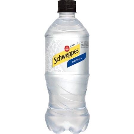 Schweppes - Original Sparkling Water 20oz Bottle Case - 24 Pack