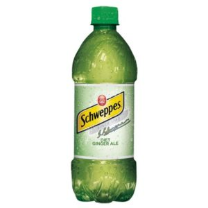 Schweppes - Diet Ginger Ale 20oz Bottle Case