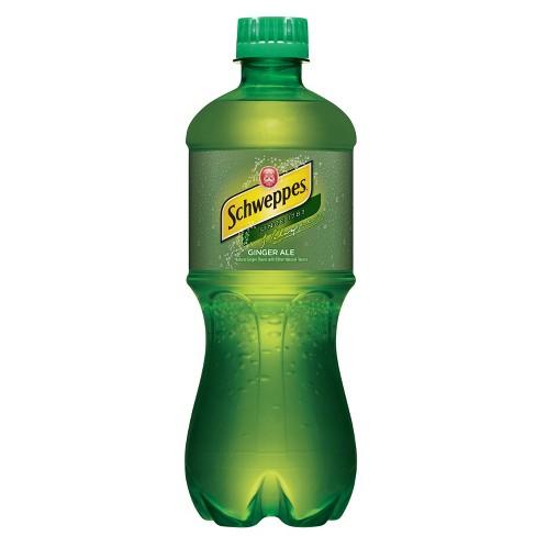 Schweppes - Ginger Ale 20oz Bottle Case