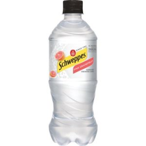 Schweppes - Pink Grapefruit Sparkling Water 20oz Bottle Case - 24 Pack
