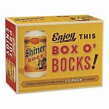 Shiner Bock - Dark Lager 12oz Can 24pk Case