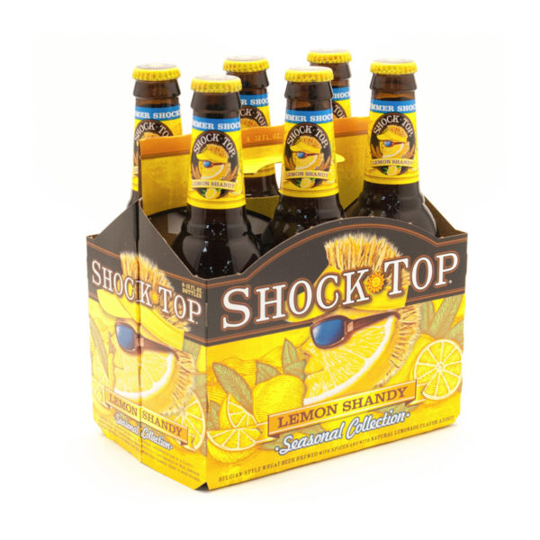 Shock Top - Lemon Shandy 12oz Bottle 24pk Case