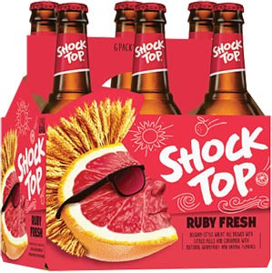 Shock Top - Ruby Fresh Grapefruit 12oz Bottle 24pk Case