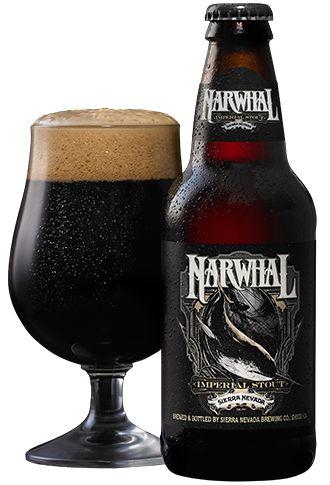 Sierra Nevada - Narwhal Imperial Stout 12oz Bottle 24pk Case