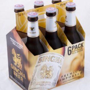 Singha - Lager 12oz Bottle 24pk Case