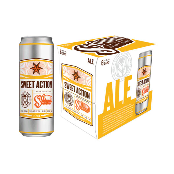 Six Point – Sweet Action 12oz Can 24pk Case
