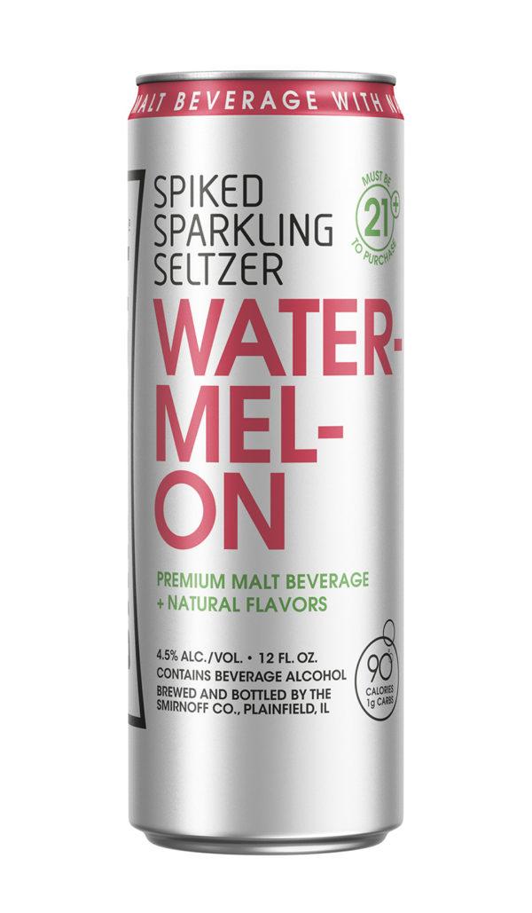 Smirnoff - Spiked Sparkling Seltzer Watermelon 12oz Can Case